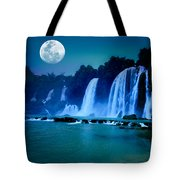 Waterfall Tote Bag by MotHaiBaPhoto Prints