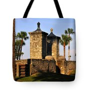 The Old City Gates Tote Bag