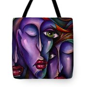 Waiting Tote Bag by Michael Lang