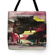 Abstract Twilight Landscape71 Tote Bag