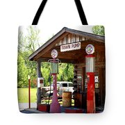 Antique Car And Filling Station 2 Tote Bag by Douglas Barnett