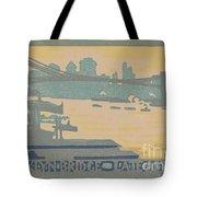 Brooklyn Bridge Late Afternoon Tote Bag