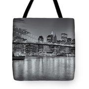 Brooklyn Bridge Twilight II Tote Bag by Clarence Holmes