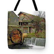 By The Old Mill Stream Tote Bag by Larry Bishop