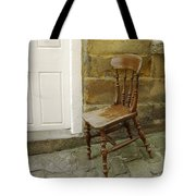 Chair And The Door Tote Bag