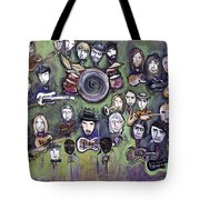 Chris Daniels And Friends Tote Bag by Laurie Maves ART