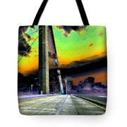 Dreaming Over The Skyway Tote Bag by David Lee Thompson