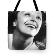 Edith Piaf Tote Bag