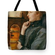Far Away Thoughts Tote Bag by Sir Lawrence Alma-Tadema