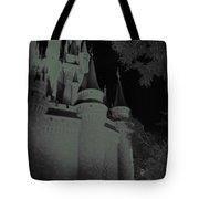 Haunted Castle Tote Bag