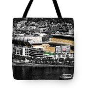 Heinz Field Tote Bag by Scott Wyatt