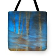 Ice Reflections Tote Bag
