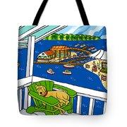 July 4th Snoozer - Cedar Key Tote Bag