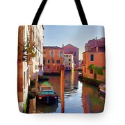 Late Afternoon In Venice Tote Bag