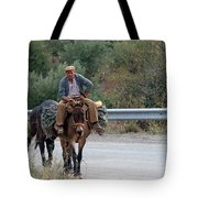 Local Travells By Donkey Tote Bag