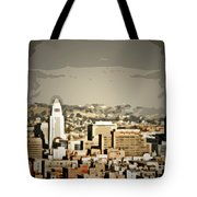 Los Angeles City Hall Tote Bag