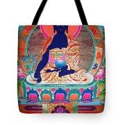 Medicine Buddha 11 Tote Bag