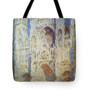 Monet: Rouen Cathedral Tote Bag
