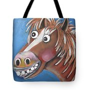 Mr Horse Tote Bag