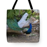 Mr. Sapphire On Alert Tote Bag