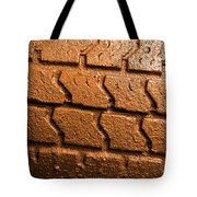 Muddy Tire Tote Bag
