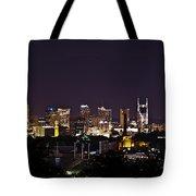 Nashville Cityscape 4 Tote Bag