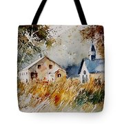 Old Chapel In Herhet Tote Bag