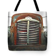 Old International Gravel Truck Tote Bag by Randy Harris