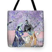 Performers On Stage Tote Bag