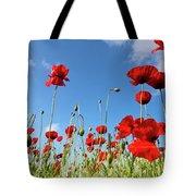 Poppies Season Tote Bag