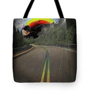 Road To Darkness Tote Bag