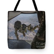 Sailors Jump Out Of A C2-a Greyhound Tote Bag