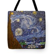 Starry Night - An Ode To Vincent Tote Bag