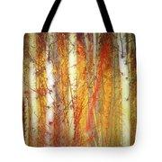 Strange Forest Tote Bag