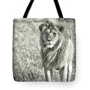 The King Stands Tall Tote Bag