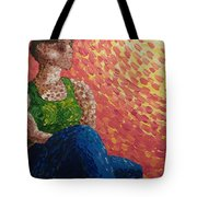 The Sun On Her Face Tote Bag