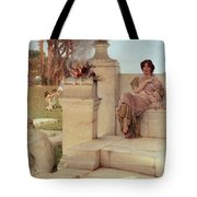 The Voice Of Spring Tote Bag by Sir Lawrence Alma-Tadema