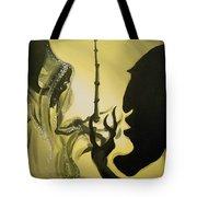 The Wand Of Destiny Tote Bag by Lisa Leeman