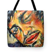 Tossing Tote Bag