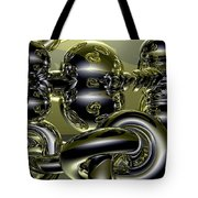 Twisted Logic Tote Bag