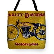 Vintage Harley Davidson Tote Bag