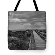 Walk To The Beach Alantic Beaches Nc Tote Bag