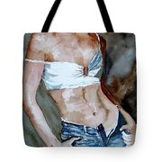 Watercolor  Nude 100405 Tote Bag