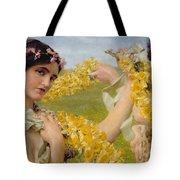 When Flowers Return Tote Bag
