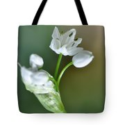 White Blossom 3 Tote Bag