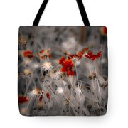 Wildflowers Of The Dunes Tote Bag by DigiArt Diaries by Vicky B Fuller