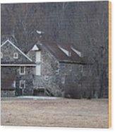 Andrew Wyeth Home Wood Print by Gordon Beck