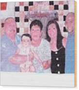 Family Wood Print