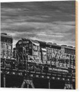 Pan Am Railways 618 616 609 Wood Print by Bob Orsillo