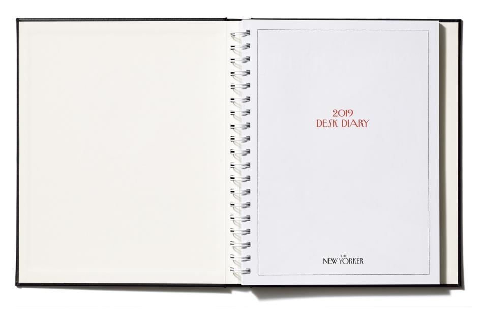 New Yorker Desk Diary